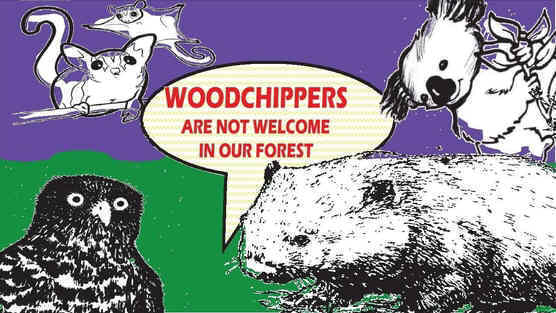 Nippon Paper Group: Please stop using woodchips from native forest